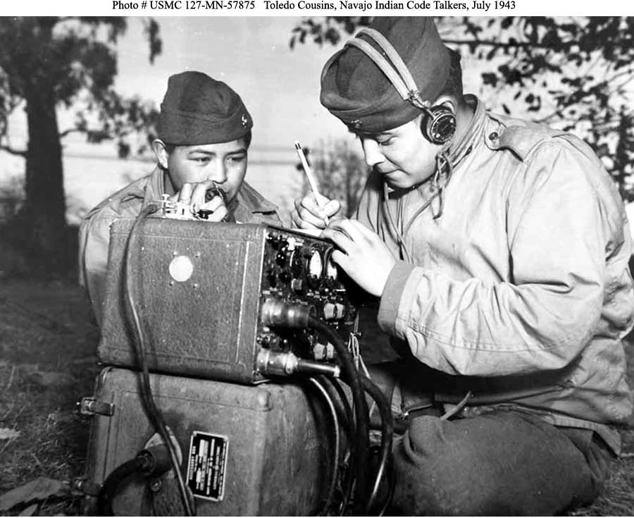 navajo code talkers of world war The language he was punished for speaking as a child helped win world war ii.