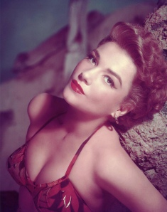 Actress Anne Baxter Photo by Frank Powolny