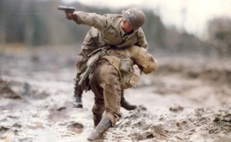 Saving the Major by Mark Hogancamp