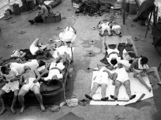 Indy survivors