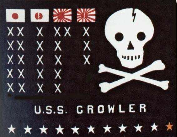 uss growler battle flag